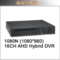 Wholesale Dvr Stand Cctv - Low cost CCTV DVR stand alone china CCTV dvr manufacturer P2P Cloud service 1080N Hybrid AHD CCTV DVR