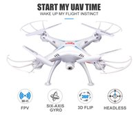 Wholesale syma x5c wifi camera resale online - RC Helicopters SYMA X5SW FPV Drone with WiFi Camera Real Time Video RC Quadcopter X5C Upgrade HD Camera Dron G Axis