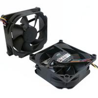 nueva cpu al por mayor-Nuevo Original Cooler Master A8025-35RB-4AP-F2 DC12V 0.34A 80 * 80 * 25M 8cm ventilador de 4 líneas PWM control de temperatura CPU ventilador de enfriamiento