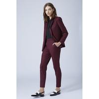женские брюки оптовых-Новый виноград женские деловые костюмы 2 шт. блейзер набор slim fit женские брючные костюмы дамы офис равномерное элегантный брюки костюмы