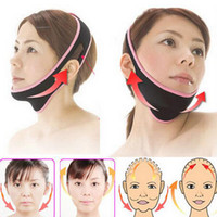 Wholesale Face Shaper - 1 Pcs Face Lift Up Belt Sleeping Face-Lift Mask Massage Slimming Face Shaper Relaxation Facial Slimming Bandage without box