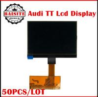 Wholesale Display Screen Audi - Free dhl 50pcs lot audi tt screen A3 A6 LCD display A3 A6 Cluster A3 A4 A6 S3 S4 S6 VDO LCD display
