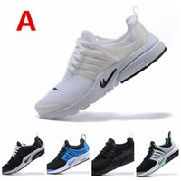 Wholesale Deep Hole - 2017 AIR PRESTO free shipping Hot Sale New Arrival Men's Big Holes Running Shoes Men Athletic Sports Sneakers 12 colors
