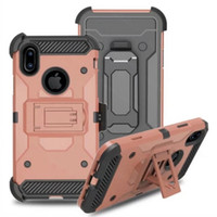 Active Solider Armor Impact Hybrid Hard Case Cover + Belt Clip holder Para Galaxy S8 PLUS NOTA 8 J7 IPHONE 7 8 qualidade superior