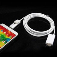 Wholesale Mhl Cable 3m - Del 3M 10FT Micro USB MHL to HDMI HDTV Cable Adapter for Android Smart Phone 5 11Pin Apr11
