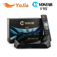 Wholesale Youporn Hd - Factory Original Openbox V9S Vontar v9s HD Satellite Receiver USB Wifi Build in CCCAMD Stalker Xtream IPTV youtube youporn Miracast IPTV