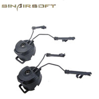 Wholesale Ops Fast Helmet - FAST Helmet accessories RAIL ADAPTER SET Peltor Comtac Headset Ops-Core Helmet ARC Rail Adapter Earphone bracket FOR C1 C2 C4 Helmet rail