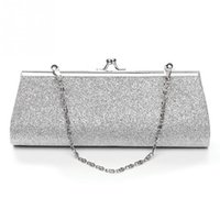 Wholesale New Fashion Bolsas - New Hot Cheap Ladies Clutch Purse Chain Handbags Women Evening Bag Bride Wedding Party Purse Clutch bolsas mujer
