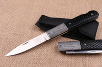 Wholesale locking back folding knife for sale - Group buy Top Quality New EDC Pocket Folding Blade Knife C HRC Satin Finish Blade knife Outdoor Camping Hiking Rescue knives Lock Back