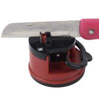 Wholesale Suction Pad Knife - Professional Chef Pad Kitchen Sharpening Tool Knife Sharpener Scissors Grinder Secure Suction sharpener for knives