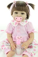 Wholesale China Hot Doll - DressyOnly Hot Sale Dolls Handmade Lifelike Baby Doll 21.5 inch 55 cm Baby Simulation Toys D56