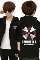 Cardigan sports umbrella xl - New Fashion Umbrella Resident Evil Spring Winter Pure Cotton Zipper Fleece Hoodies Sweater Coat Jackets Sports Pants Tracksuit