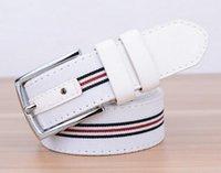 Wholesale Boys Waistband - New Designer Famous Brand Luxury Belts Women Men Belts Male Waist Strap Faux Cowskin Belt Fashion Waistband for boy
