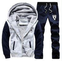 Wholesale Tracksuit Sets For Men - Polo Winter Men Set Hoodies Sport Tracksuit For Mens Sweat Suits Sweatshirts Man Jogging Jogger Chandal Sudaderas Hombre Homme
