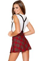 Wholesale Sexy Ingerie - ingerie camisole DearLover Sexy Study Partner Schoolgirl Costume LC8872 Sexy Schoolgirl Uniform Cosplay Suits adult cosplay lingerie role...