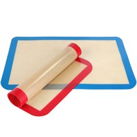 """Wholesale Macaron Baking Set - Silicone Baking Mat Cookie Baking Sheet Set 8.5"""" X 11.5 """"silicone Baking Liner Macaron Mat 100 Pcs lot"""