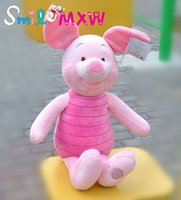 Wholesale 24 Pig Doll - Piglet Pig Plush Doll Cute Stuffed Animals Brinquedos Kids Winnie the Pooh Soft Toys for Children Gifts