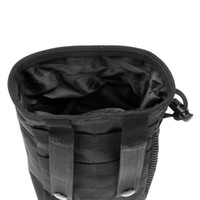 pochette de paintball achat en gros de-20x14x9cm dimensions Tactical Outdoor mini Stuff Sacks Sac en nylon Paintball Chasse Pliante Poche Récupération Dump Pouch