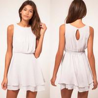 Wholesale Good Ladies Satin Dresses - Sexy Dresses Ladies Skirt Beach Dress 2016 Hot Sale Big Size Mop Quaility Good Street Evening M-XL Women Dress