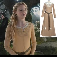 Wholesale Cinderella Dresses For Sale - Hot Sale Movie Cinderella Princess Dress Adult Cinderella Cosplay Costumes Halloween for Girls Free Shipping Customized