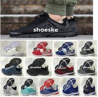 Wholesale Cheap Cotton Canvas Fabric - 2016 Air Presto BR QS Breathe Classical Black White Running Shoes for Men&Women,Cheap Original Air Presto Sport Shoe Hot Sale Size Eur 36-45