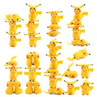 Wholesale Action Figures Collection - Poke Pikachu Action Figures PVC Doll Collections Toys
