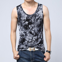 Wholesale Sports Singlets For Men - Wholesale-High Elastic Tank Top For Men Bodybuilding Clothing And Fitness Men's Sleeveless Shirt Sports Vests Cotton Singlets Muscle