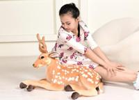 Wholesale Nici Giraffe - .NICI Komano cute giraffe doll stuffed animal toys free shipping 40CM