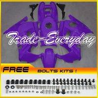 Wholesale Cbr Fairing Kit Purple - ABS Fairing Kit Fit CBR600 F2 1991-1994 CBR 600 91-94 Purple 21N75