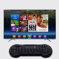ingrosso scatola del taccuino android-Mini tastiera senza fili 2.4GHz Tastiera inglese Mouse Air Telecomando Touchpad per Android TV Box Notebook Tablet PC
