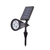 Wholesale High Bright LED Solar Powered Light Lamp for Outdoor Landscape Lighting Garden Driveway Pathway Yard Lawn Decorative Lighting