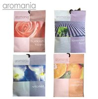 Wholesale Scented For Cars - Aromania Fresh Rose Lavender Scented Sachet Fragrance Drawer Sachets Bag For Bedroom Car Flavor Fragrances Indian Free Shipping