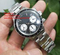 Wholesale Mens Watche - Luxury High Quality Watch BP Factory 40mm Cosmograph 6263 Vintage Swiss ETA 7750 Movement Mechanical Hand-winding Mens Watch Watche