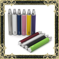 Wholesale Ego Cigarette Retail Box - E Cigarette Vision Spin Batteries 1100mAh 1300mAh Batteries Ego Thread Variable Voltage Battery 10 Colors With Retail Box Fast Shipping