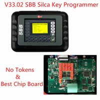 Wholesale Sbb Programmers - Wholesale-Newest Silca SBB V33.02 SBB Auto Key Programmer IMMOBILISER V33 SBB Silca Key Programmer Support Multi-languages No Need Tokens
