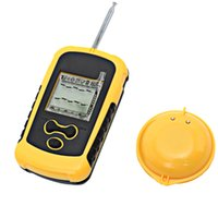 Wholesale Portable Menu - English Menu Portable Wireless Fishfinder AAA Batteries Sensor 125 kHz Sonar Echo Sounder Waterproof Fish Finder