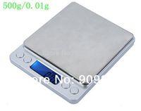 Wholesale Digital Electronic Platform Scales - 500g 0.01g Platform Kitchen Electronic Scales 500G Digital Jewelry Weighing Balance Scale 0.01 Balance Laboratory With Trays
