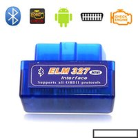 Super Mini ELM327 Bluetooth V1.5 OBD2 II Auto Diagnostic Tool ELM 327 Bluetooth Work ON Android Torque