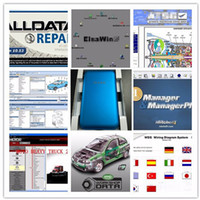 Wholesale Auto Honda - Alldata 2017 auto Repair Software all data v10.53+Mitchell on demand +moto heavy truck+atsg 47 in1 1TB HDD for all cars and trucks