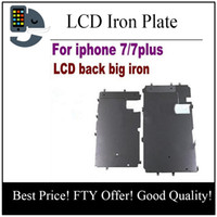 Wholesale Iron Replacement - for iPhone 7 plus 7P LCD iron plate New Replacement Repair Parts LCD Plate Metal Backplate