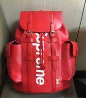 Wholesale Girls Fashion Europe - High quality Europe 2017 Luxury brand women backpack men bag Famous designers canvas men's backpack women's travel bag backpacks