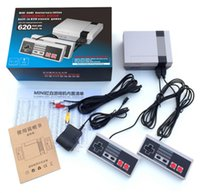 Wholesale New White Mini - 2017 New with 620 500 Built-in Games Mini TV Handheld Game Console Video Game Console For Nes Games PAL&NTSC with retail box