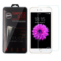 Wholesale Screen Protector Tempered - For Iphone 8 Iphone 7 J7 Prime Tempered Glass Screen Protectors For Iphone X Edition 2.5D Explosion Shatter Screen Protector Film In box