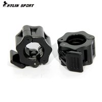 Wholesale Pair Dumbbell Bar - Wholesale-26mm dumbbell bar plastic cord lock a pair of open model circlip clip