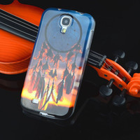Wholesale Owl Tpu Case S4 - Wholesale-Fashion Owl Tower Flag TPU Silicone Soft Case For Samsung Galaxy S4 SIV I9500 Back Skin Cover Cell Phone Protect ShockProof Bag