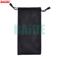 Wholesale Wholesale Optical Bags - Colorful Black Tools Bags Pouches for Sunglasses Mp3 Soft Cloth Dust Pouch Optical Glasses Bag 500pcs lot