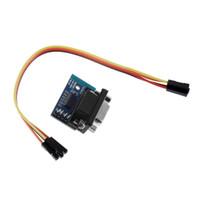 módulo de conector venda por atacado-Porta serial de MAX3232 RS232 ao conector do módulo DB9 do conversor de TTL com transferência do cabo