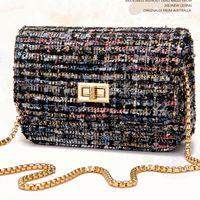 Wholesale Bird Locked - FLYING BIRDS! women bags for brand women messenger bags shoulder bag ladies woolen handbag clutch chain bag elegant LS4609fb