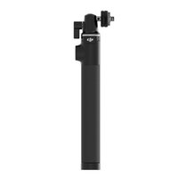 Wholesale handheld telescope resale online - 2016 Original DJI Extension Stick Telescoping Design For Osmo Handheld K Camera and Axis Gimbal Part Black