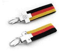Wholesale Vw Key Ring Leather - Germany VW R Golf 6 7 Tiguan Passat CC Jetta MK4 MK6 leather emblem key logo keychain key ring car accessories for VOLKSWAGEN